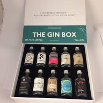 The gin box World Tour